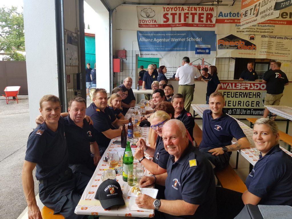 Kameraden der FF Niklasdorf